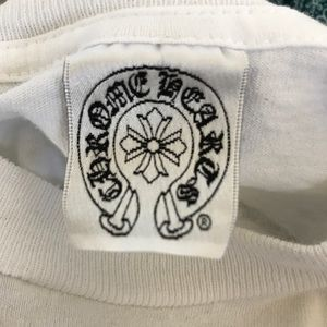 Chrome Hearts Tops - Chrome Hearts White Long sleeve shirt raw edges